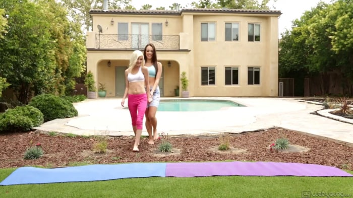Jenna Sativa in Yoga Girlfriends