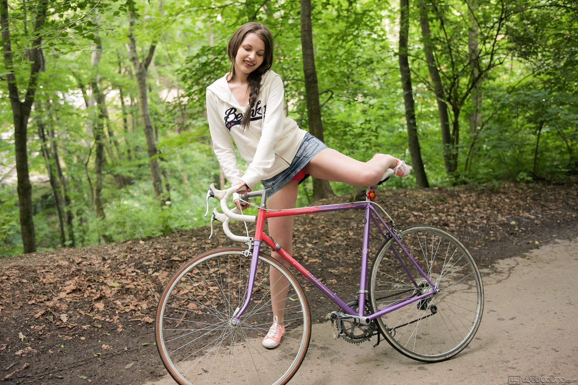 Bicycle anal porn pics, bicycle sex images
